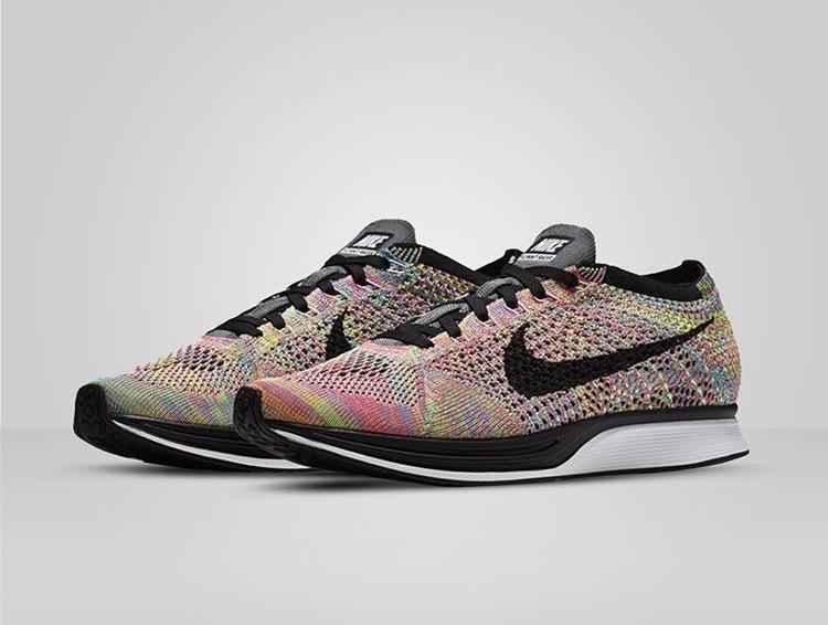 "sports shoes 61721 5265b Nike Flyknit Racer ""Multicolor"" Links"